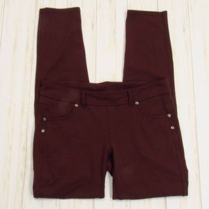 Athleta Deep Plum Jegging Pants 10